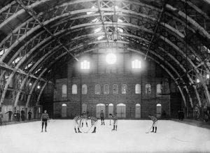 historien bak ishockey
